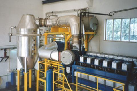 Exhaust gas boilers
